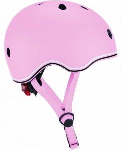 Globber casque Go Up Lights Pastelrose junior taille 45-51 cm