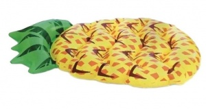 Grafix airbed pineapple 150 x 91 x 24 cm yellow