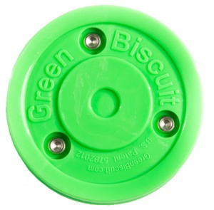 Green Biscuit hockeypuck Training groen