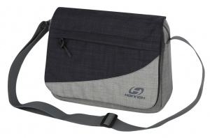 Hannah shoulder bag MB A529 x 27 cm nylon 3,75 litres black/grey