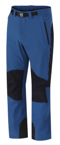 Hannah outdoorbroek Garwyn softshell heren blauw/zwart