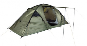 Hannah tent Space 4 4-persoons 480 cm polyester donkergroen