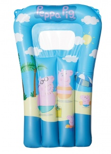 Happy People air mattress Peppa Pig67 x 43 cm blue