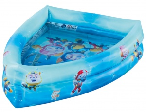 Happy People inflatable pool Paw Patrol120 x 82 x 26 cm blue