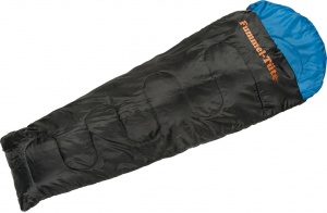 Happy People sleeping bag festival mummy 210 x 80/50 cm blue