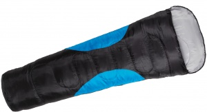 Happy People sleeping bag mummy 210 x 85/65 cm black