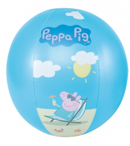 Happy People strandball Peppa Pig29 cm blau