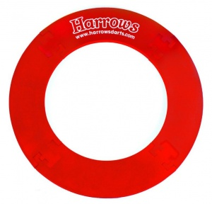 Harrows Dartbord Surround 4-Delig Rood