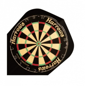 Harrows Flight 2008 Quadro Dartboard