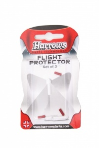 Harrows Flight Protector Aluminium Per 3 Stuks Rood