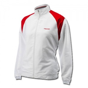 Head tennis jacket Club Cooper junior white / red