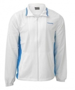 Head tennis jacket Club Hartley junior white / blue