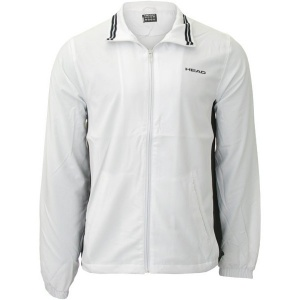 Head tennis jacket Club Hartley junior white / black