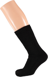 Heat Keeper thermosocken Junior Acryl schwarz Größe 31/35