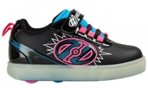 Heelys rolschoenen X2 POW Lighted junior zwart
