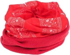 Herman Essential bandana multifunctioneel unisex rood
