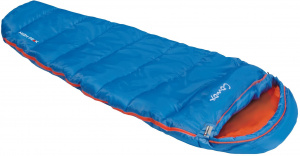 High Peak sleeping bag Comox junior polyester 170 x 70 cm blue/orange