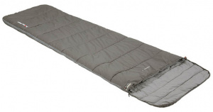 High Peak sleeping bag Conon 7 polycotton 220 x 60/80 cm grey