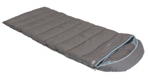 High Peak sleeping bag Dundee 4 polycotton 230 x 90 cm grey/blue
