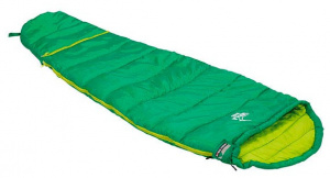 High Peak sleeping bag Impala Vario junior polyester 165 cm green