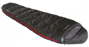 High Peak sleeping bag Redwood -3 polyester 220 x 50/80 cm black