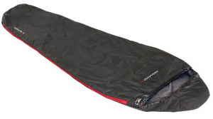 High Peak sleeping bag Redwood-14 polyester 210 x 75 cm black