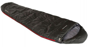 High Peak sleeping bag Redwood-4 polyester 220 x 50/80 cm black