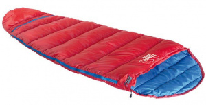 High Peak sleeping bag Tembo Vario junior polyester 185 cm red