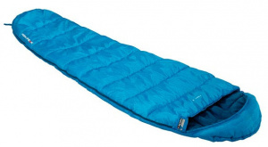 High Peak sleeping bag Trek-2 polyester 220 x 50/80 cm blue