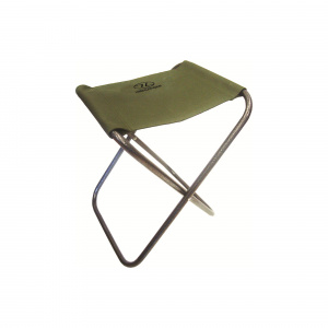 Highlander camping stool 40 x 32 cm polyester olive green