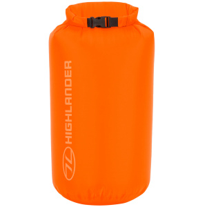 Highlander lightweight drysack 13 Liter orange