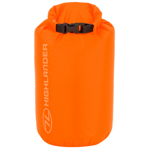 Highlander lightweight drysack 4 Liter orange