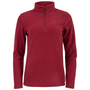 Highlander pullover Ember Damen Fleece bordeaux