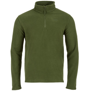 Highlander trui Ember heren fleece olijfgroen