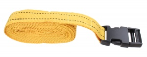 Hofftech Suitcase strap 2,5 meter yellow 2 pieces