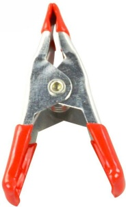 Hofftech sail clamps mini with insulation red/silver 5 cm