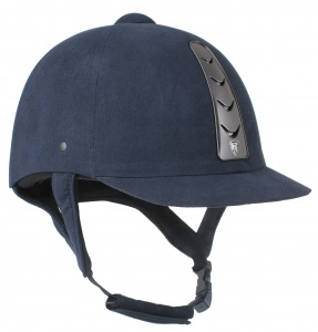 HORKA ruitercap Hawk leather unisex blauw