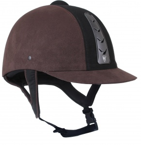 HORKA ruitercap Hawk leather unisex bruin