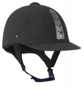 HORKA ruitercap Hawk leather unisex zwart