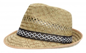 HORKA straw hat classic model beige