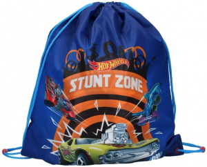 Hot Wheels sac de sport Stunt Zone boys 44 x 37 cm polyester bleu