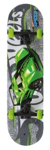 Hot Wheels SpeedMachine skateboard groen 79 x 20 cm