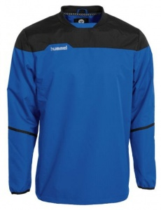 Hummel sportsweater Authentic windproof/water-repellent blue