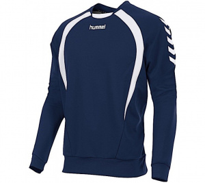 Hummel sportsweater Team Top Round Neck men's polyester marine