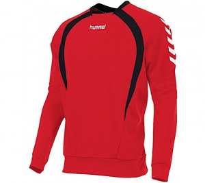 Hummel sportsweater Team Top Round Neck junior polyester red