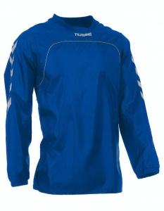 Hummel training top Corporate winddicht/waterafstotend blauw maat 116