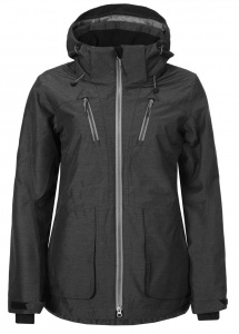 Ice Peak winter coat Kellyladies anthracite