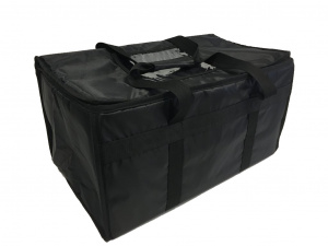 Igloo delivery bag Large with side pockets 39 litres black