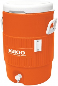 Igloo drankdispenser Seat-Top 19 liter oranje