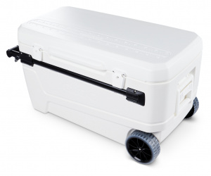 Igloo cooler Glide Pro 110 Roller 104 litres polyethene white